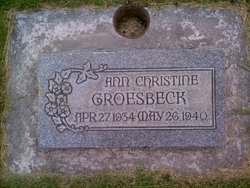 Ann Christine Groesbeck