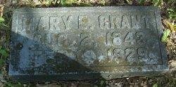 Mary Elizabeth <I>Graves</I> Grant