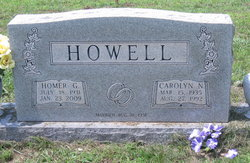 Carolyn Nell <I>Burch</I> Howell