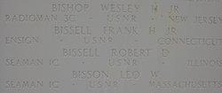 Ens Frank Harper Bissell Jr.