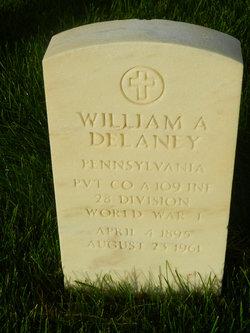 William A Delaney