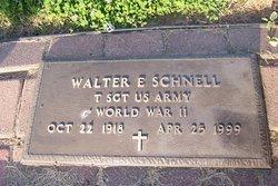 Walter E. Schnell