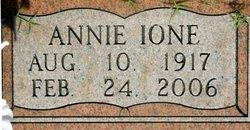 Annie Ione <I>Murphy</I> Hutchens