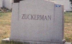 """Miriam """"Mary"""" <I>Robinson</I> Zuckerman"""