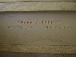 """Franklin Eugene """"Frank"""" Bodley, I"""