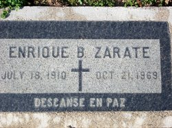 Enrique B Zarate