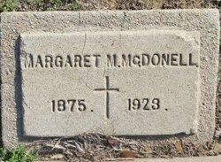 "Margaret M ""Maggie"" McDonell"