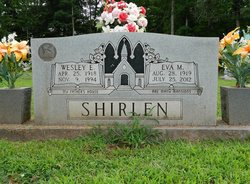 Mrs Eva <I>Morgan</I> Shirlen