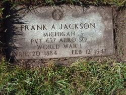 Frank A Jackson