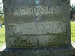 Bertha H. <I>Hopkins</I> Woodward