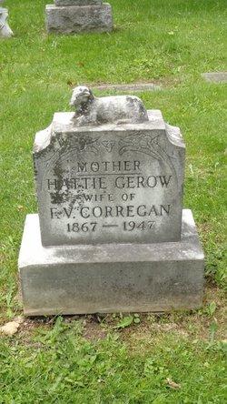 """Harriet """"Hattie"""" <I>Gerow</I> Corregan"""