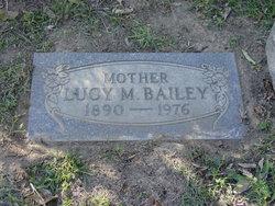 Lucy M <I>Bills</I> Bailey