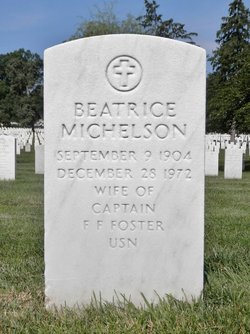 """Beatrice """"Bea'"""" <I>Michelson</I> Foster"""