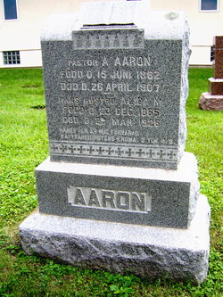 Alida Mathlida <I>Anderson</I> Aaron