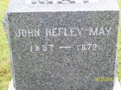 John Hefley May