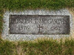 Joseph T McCarthy