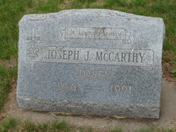 "Joseph J ""Josey"" McCarthy"