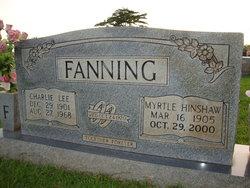 Nancy Myrtle <I>Hinshaw</I> Fanning