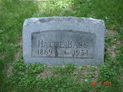 "Harriett ""Hattie"" <I>Fox</I> Bass"
