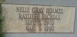 Nelle Gray <I>Holmes</I> Nichols