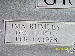 Ima <I>Rumley</I> Griffin
