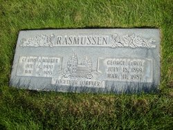 Gladys Amanda <I>Walker</I> Rasmussen