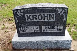 Marie <I>Thielke</I> Krohn