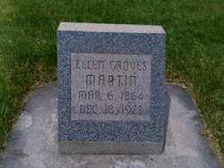 Mary Ellen <I>Groves</I> Martin