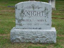Mary L Knight