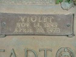 Violet Bell <I>Inman</I> Biddenstadt