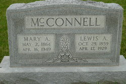 "Mary Ann ""Mollie"" <I>Huling</I> McConnell"