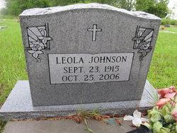 Leola <I>Sharpe</I> Johnson