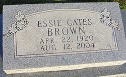 Essie Ila <I>Cates</I> Brown