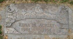 Rena M <I>Isenberg</I> Ackley