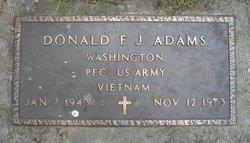 Donald F J Adams