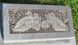 Marie Virginia <I>Whiteley</I> Brown