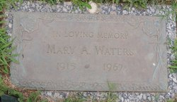 Mary A Waters