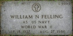 William N Felling