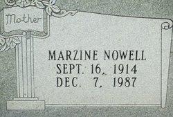 Marzine <I>Nowell</I> Agent