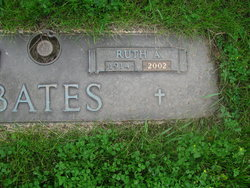 Ruth Anna <I>Braatz</I> Bates