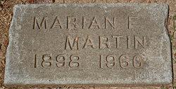 Marian F Martin