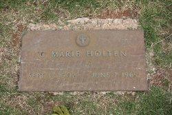 C Marie Holten