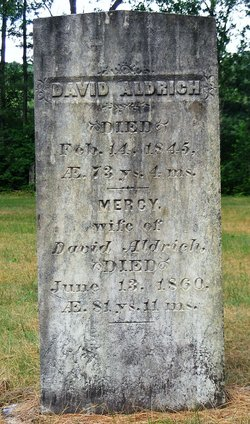 Mercy <I>Lovell</I> Aldrich