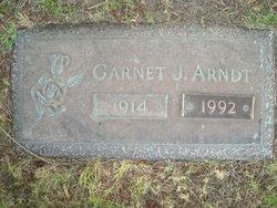 Garnet J <I>Booker</I> Arndt