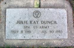 Julie Kay <I>Cummings</I> Duncil