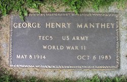 George Henry Manthey