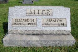 Elizabeth Catherine <I>Marks</I> Aller