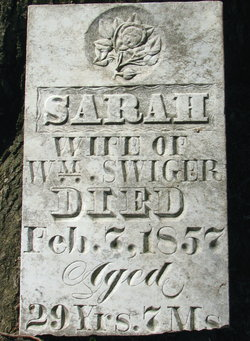 Sarah <I>Speece</I> Swiger