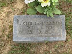 Joseph Earl Holder