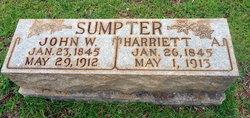 Harriett Arabella <I>Cooper</I> Sumpter